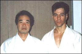 With Imanishi Sensei, Tokyo 1991