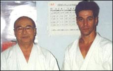 With Ken Sakio Sensei, Tokyo 1991