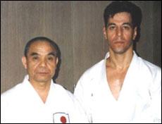 With Hiroshi Murata Sensei, Tokyo 1991