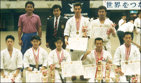 32nd All Japan Karate Do Federation Shitokai - Championships, Tokyo 1992, 3rd Place in Kumite Open Division