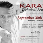 Master Tanzadeh Karate Seminar in California 2017
