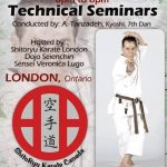 Master Tanzadeh Karate Technical Seminar in London Ontario 2017