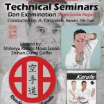 Master Tanzadeh Karate Technical Seminar in Nova Scotia 2016