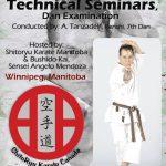 Master Tanzadeh Karate Technical Seminar in Winnipeg Manitoba 2016