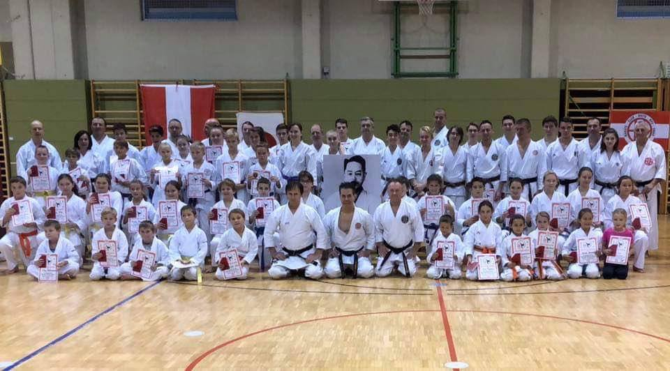 Master Tanzadeh Karate Technical Seminars in Gnas, Austria 2018