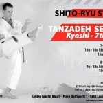 Master Tanzadeh Karate and Shitoryu Technical Seminars in Belgium 2017
