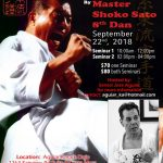 Master Tanzadeh Master Sato joint Karate Seminar in California 2018