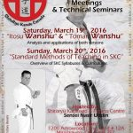 Master Tanzadeh Shitoryu Karate Seminars in Mississauga, Ontario 2016