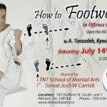 Master Tanzadeh Technical Seminars on footwork or Ashisabaki in Kumite 2018