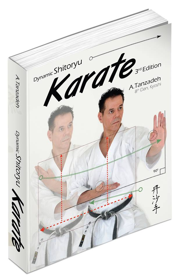 Master Tanzadeh karate Book Dynamic Shitoryu Karate