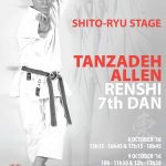 Shitoryu Karate Technical Seminar by Master Tanzadeh in Belgium 2016