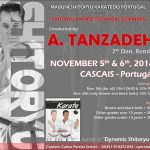 Shitoryu Karate technical seminar with Master Tanzadeh in Portugal
