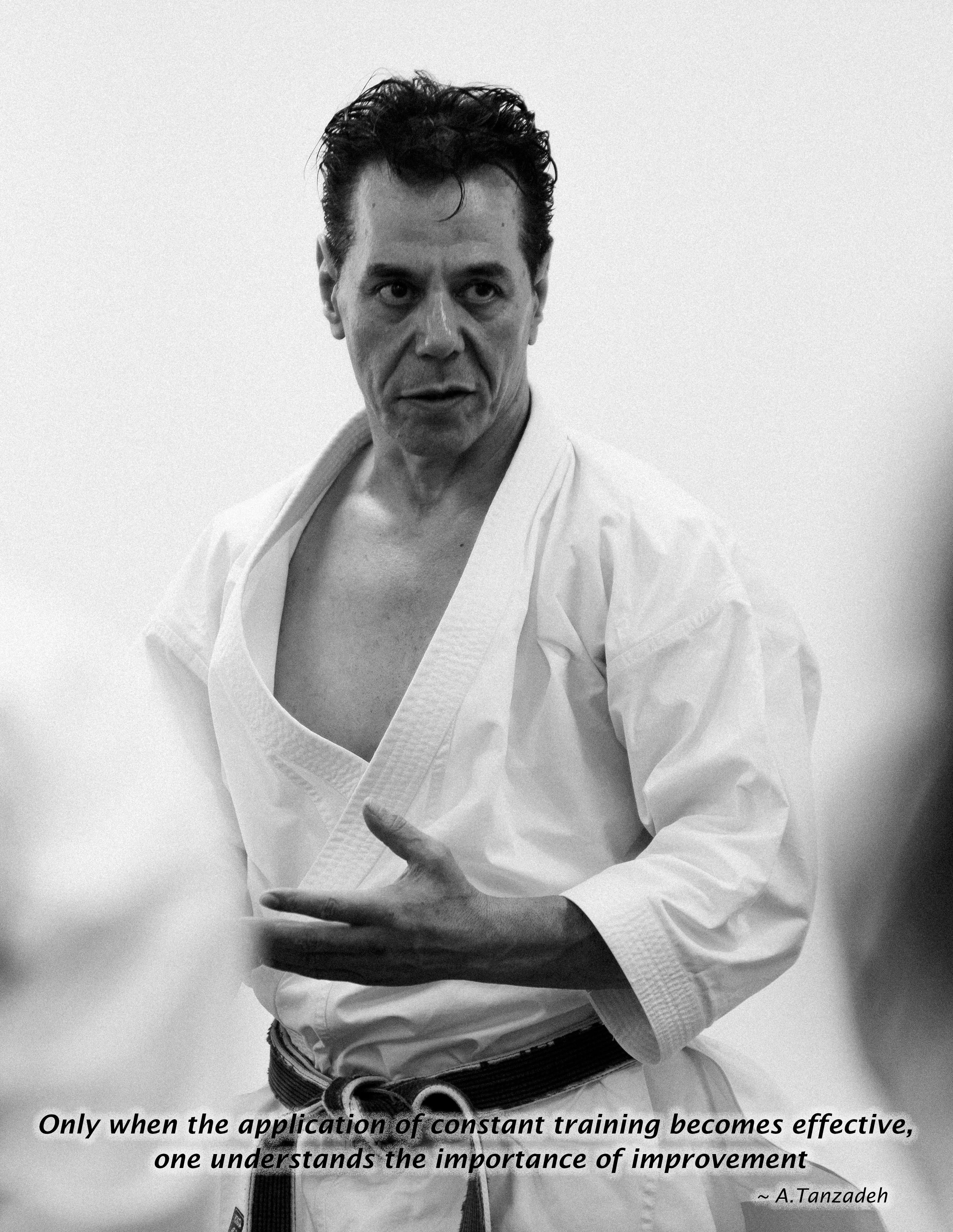 Kyoshi Tanzadeh Shitoryu Karate 8th Dan