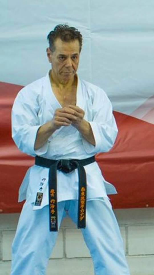 Master Tanzadeh Shitoryu Karatedo 8th Dan Kyoshi