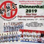 Shinnenkai 2019 of Kyoshi Tanzadeh Dojo in Toronto Canada