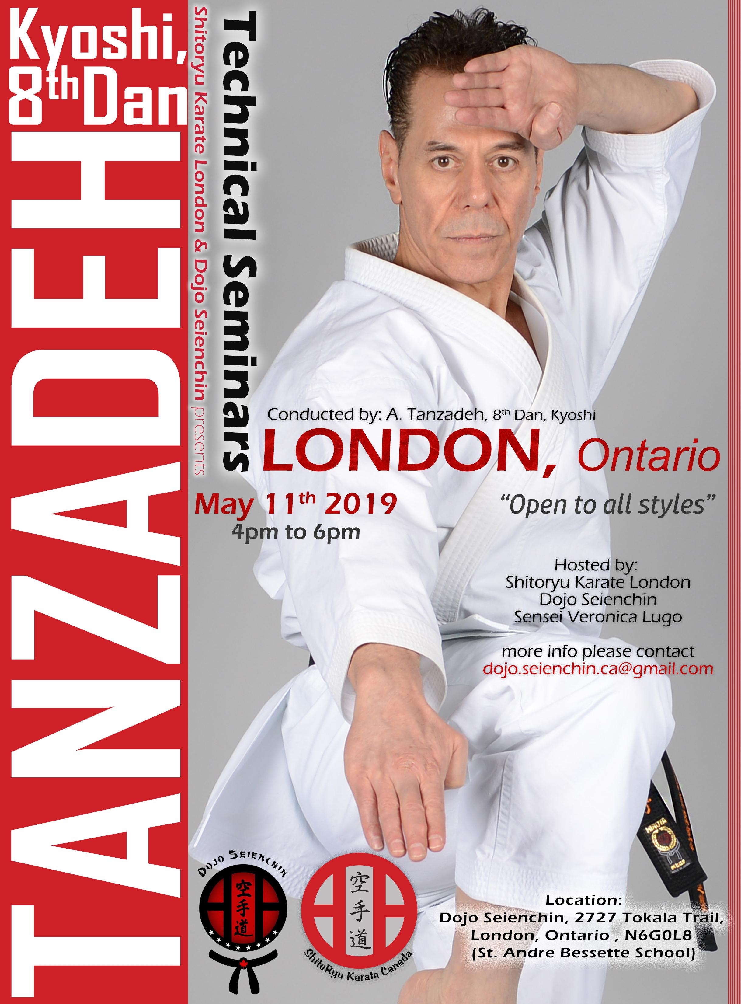 Sensei Tanzadeh-Seminar-in-London-Ontario