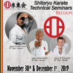 Genzo Iwata-Tanzadeh-Shoko Sato-Karate Seminar-Austria