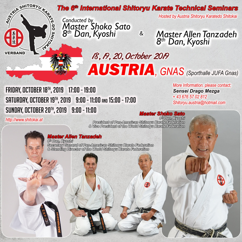 Tanzadeh-Shoko Sato-Karate Seminar-Austria