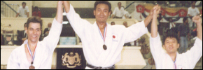 Sensei Tanzadeh Karate Championships Titles and Achievements
